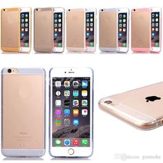 Mobile Phone Dirt-resistant Cases for Iphone 6 6 Plus TPU Transparent Soft Cases 4.7 5.5 Inch Case Online with $1.7/Piece on Gzsmoke's Store | DHgate.com