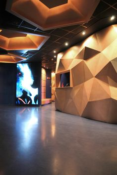 Malena – disco club ‹ Paolo Gerosa Design Studio Disco Club, Table Lamp, Van, Interior Design, Studio, Lighting, Projects, Home Decor, Nest Design