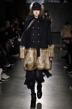 sacai The North Face 2017 Fall Winter Collection Paris Fashion Week Mens