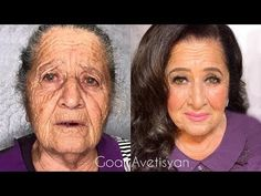 The power of makeup Makeup Transformations by Goar Avetisyan - YouTube