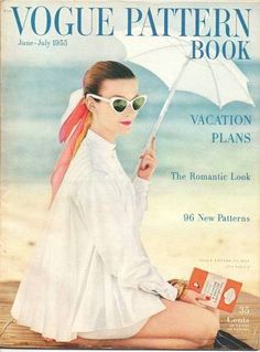 June-July 1955 VOGUE PATTERN BOOK