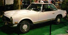 1971 Mercedes 280 SL roadster Elvis bought Priscilla around Christmas 1970.  Reportedly she claims it has always been her favorite car.