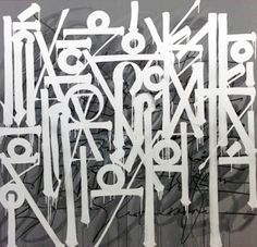 Never Written Anything | Painting by Retna | 2013 | #Retna