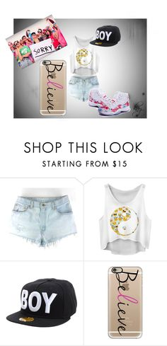 """""""Sorry - Justin Bieber outfit"""" by kaystarr14 ❤ liked on Polyvore featuring BOY London and Casetify"""