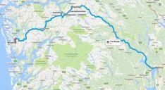 Oslo to Bergen by Car