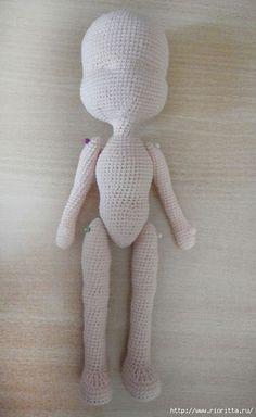 Amigurumi Bebek Yapılışı 18