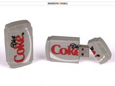 Design Your Own Flash drive. Diet Coke Can Shape USB Flash Drive