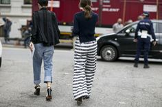 See All the Milan Fashion Week Street Style Fall 2015 | StyleCaster