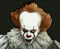 Pennywise is drooling, he must have seen The Loser's Club pass by! Eehh!