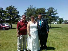 Outdoor reception near Defiance, Ohio 2014
