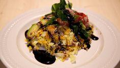 Zoete aardappel-koolpannenkoek - De Makkelijke Maaltijd | 24Kitchen