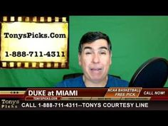 Duke Blue Devils vs. Miami Hurricanes Pick Prediction NCAA College Baske...
