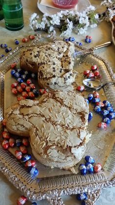 """Easter breakfast 2015: local cake called """"dove""""!"""