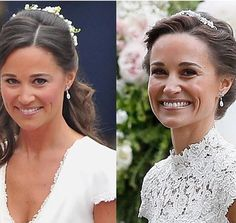 """526 Likes, 7 Comments - WWKD's repliKate Database (@wwkd_replikate) on Instagram: """"Did you notice? Pippa wore something old and sentimental for her wedding today - the same pear-cut…"""""""