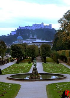 Mirabell Garden~Salzburg, Austria (sound of music fountain) #beenthere