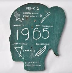 According to Candler Arts they were nailed to the sleeping quarters at summer camps in Damascus, Pa. thirty-six years ago. (via poppytalk via Handmade Charlotte). Camping In Pa, Amy, Cabin Signs, Vintage Cabin, Vintage Decor, Girl Silhouette, Girls Camp, Teaching Art, Making Ideas