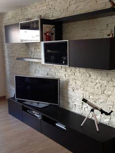 steinoptik wand navarrete wand pinterest w nde wandgestaltung und wandgestaltung wohnzimmer. Black Bedroom Furniture Sets. Home Design Ideas