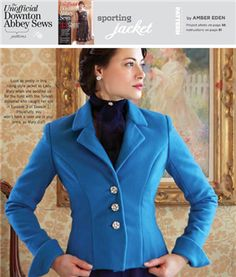 SPORTING JACKET - Free Pattern - Sew Daily. Pattern download only. Instructions are in the Stitch Magazine that you will have to purchase in you need them.