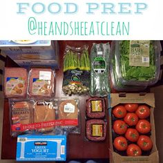 Prep your food for the week and have more time to exercise or spend with your family!  #heandsheeatclean #foodprep #eatclean