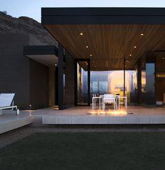 Outside fireplace Galeria - Casa de Terra Batida / Kendle Design - 141