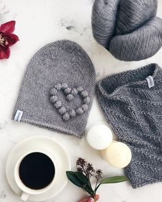 Likes, 187 Comments – ? Painted Hats, Hat And Scarf Sets, Knit Shoes, Knit Beanie Hat, Knitted Shawls, Knitting Designs, Crochet Yarn, Baby Hats, Baby Knitting