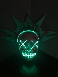 Lady Liberty Mask Inspired by The Purge: Election Year.