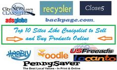 Top 10 Sites Like Craigslist To Sell And Buy Products Online Technotrait Things To Sell Site Online