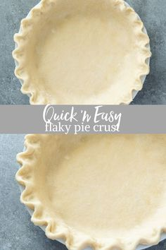 Make Flaky Pie Crust in your food processor with 3 simple ingredients and about 15 minutes of prep. Homemade pie crust has never been easier! Best Pie Crust Recipe, Pie Dough Recipe, Pie Crust Recipes, Flaky Pie Crust Recipe Crisco, Homemade Pie Crust Easy, Easy Pie Crust, Vegan Pie Crust, Homemade Cheesecake, Homemade Snickers