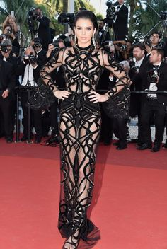 Kendall Jenner in Roberto Cavalli Couture - All the Breathtaking Looks From the 2016 Cannes Film Festival - Photos