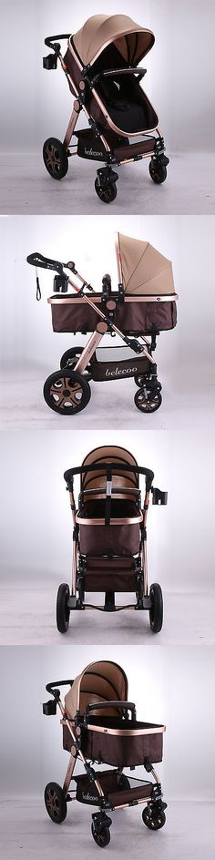 baby kid stuff: Foldable Pram Baby Stroller Travel System Five-Point Harness Newborn Carriage BUY IT NOW ONLY: $149.0