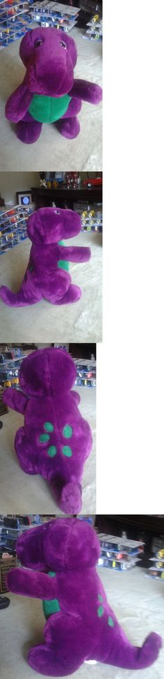 Vintage 165956: Rare! The Real Barney Dinosaur Stuffed Animal Plush Toy -> BUY IT NOW ONLY: $130 on eBay!