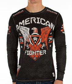 """""""American Fighter Chicago Thermal Shirt"""" www.buckle.com"""