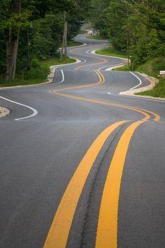 ponderation:  Wisconsin Highway 42 by khanusiak