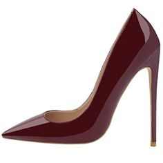 Lovirs Womens Wine Red Patent Pointed Toe High Heel Slip ... https://www.amazon.com/dp/B01N3YV80Q/ref=cm_sw_r_pi_dp_x_bLkYybKSPM4FH