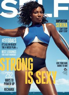 #MagLove 5 August 2016 — the best #Olympics2016 magazine covers — SELF, September 2016: Serena Williams.