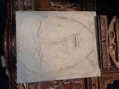 Artist plaster work - July 27, 2014