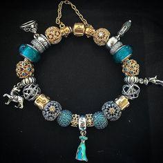 Pandora bracelet. Winter Christmas 2015