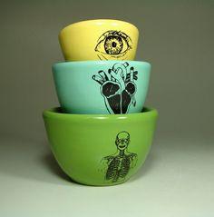 Anatomical Nesting Bowls