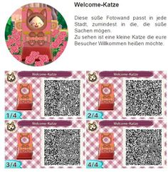 Welcome Katze by Hanne