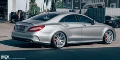 The Mercedes-Benz CLS-Class has been out for quite some time and has seen a considerable amount of competition from other automakers. However, it still reins king in the four-door coupe market and the CLS 63 AMG S Model is the crème de la crème of the model range, especially when it's wearing a set of staggered wheels. www.wheelhero.com