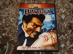 Blacula (DVD, 2004) MGM Soul Cinema Release! '70s Blaxploitation Vampire Horror!