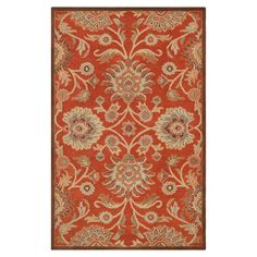 Elliot Floral Wool Hand-Tufted Area Rug & Reviews | Joss & Main