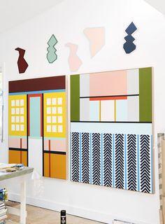Quilt ideas A Valentino Collaborator's Australian Pad | Design*Sponge