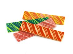"Fruit Stripe Gum - ""Yipes Stripes, fruit-stripe gum"" deliciously fruity although very fleeting flavour."