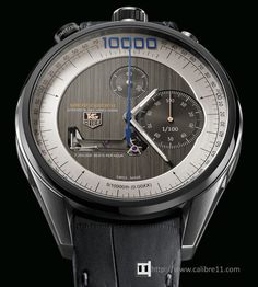 Here is TAG Heuer's new Concept watch for Basel 2012- the TAG Heuer Mikrogirder 10000 featuring a unique Chronograph movement that vibrates at 7.2 million beats per hour allowing time to be read to a precision of 5/ 10,000th of a second.
