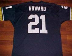 00482a596 Details about Vintage Gridiron Great NCAA 1991 Michigan Wolverines Desmond  Howard 21 Jersey 54