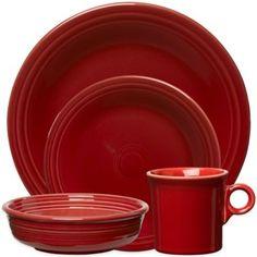 Fiesta® Dinnerware Collection in Scarlet - BedBathandBeyond.ca
