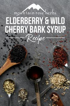 Soothing Wild Cherry Bark Syrup Recipe for Dry Throat Health Cold Home Remedies, Natural Health Remedies, Herbal Remedies, Holistic Remedies, Healing Herbs, Medicinal Herbs, Natural Healing, Holistic Healing, Dry Throat