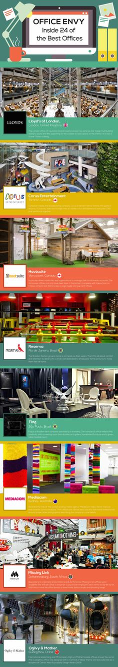 The Most Innovative Office Designs From Around The World - UltraLinx