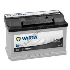 BATERIE AUTO VARTA BLACK 70 Ah cod E9 - 5704090643122